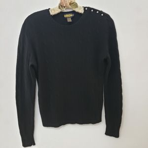 "Ralph Lauren ""RUGBY"" Wool Angora Cashmere sweater"